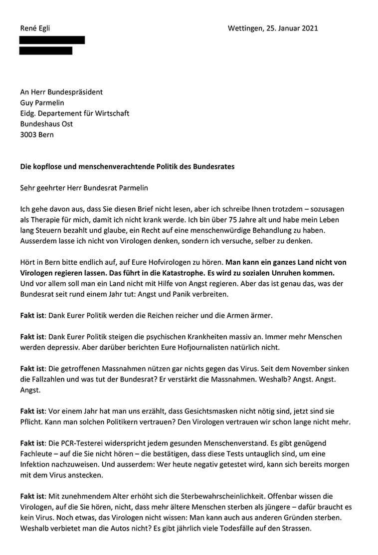 Egli_Brief_Bundesräte_Corona